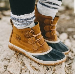 Sorel Out N About Waterproof Leather Boot
